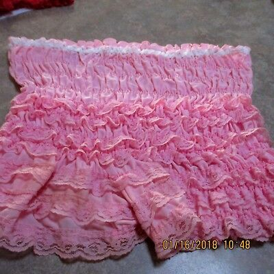 #8-SQUARE DANCE PETTIPANTS, SIZE SMALL,GOOD CONDITION Waist fits 24- 31  inches