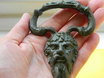 Huge post medieval cast anthropomorphic mount face  metal detecting detector