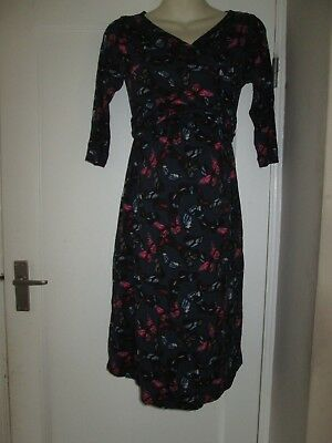 Pretty Size 10 Butterfly Next Maternity Dress See Pics!!