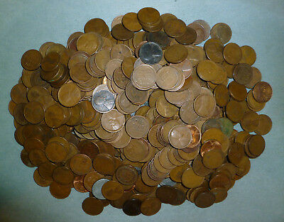 729 mixed Wheat Pennies - MUCH HIGHER PERCENTAGE OF TEENS AND TWENTIES