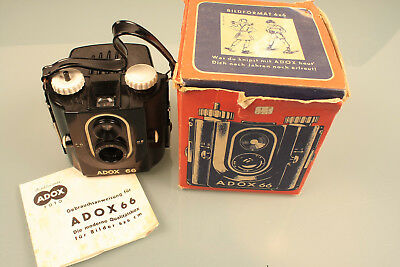 Adox 66 MB (!) 6x6 Rollfilm 50er Jahre in OVP!