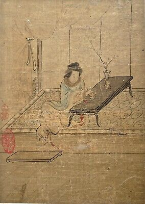 Fine Provenance Chinese Painting of Lady - Late 18th - Early 19th Century