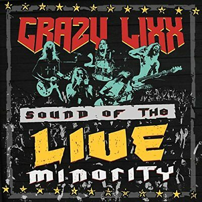 Crazy Lixx - Sound Of The Live Minority [CD]