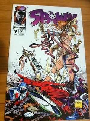 Spawn #9 Nm To Mint Condition