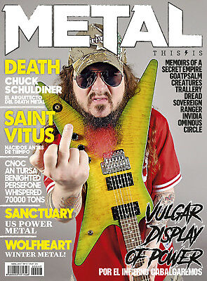 This is Metal Magazine Spain 17 - April 2017 - Vulgar Display of Power - Dimebag