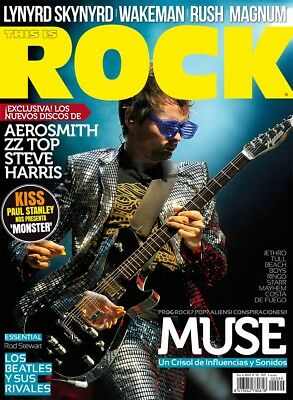 This is Rock Magazine Spain Issue 99 - September 2012 - Muse - KISS Paul Stanley
