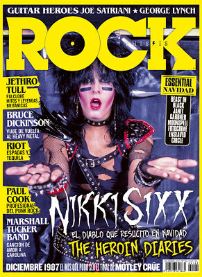This is Rock Magazine Spain Issue 162 December 2017 - NIKKI SIXX - MÖTLEY CRÜE