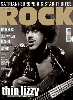 This is Rock Magazine Spain Issue 98 - August 2012 - Thin Lizzy - AC/DC - Europe