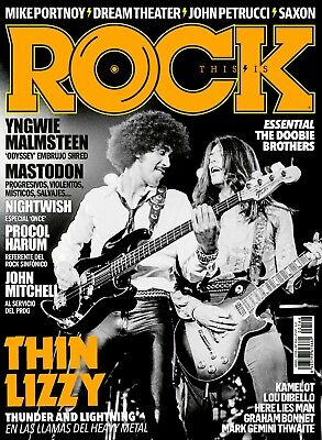 This is Rock Magazine Spain Issue 166 April 2018 - THIN LIZZY - MASTODON - SAXON