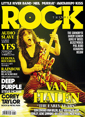 This is Rock Magazine Spain Issue 157 - July 2017- Van Halen - Audioslave - KISS