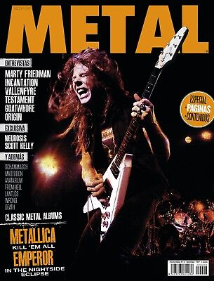 This is Metal Magazine Spain Issue 08, 2014 Metallica, James Hetfield, Neurosis