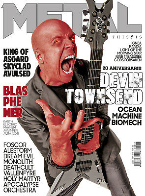This is Metal Magazine Spain Issue 19 - Devin Townsend, Blasphemer, Alestorm