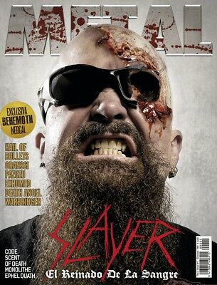 This is Metal Magazine Spain Issue 05, 2014, Slayer, Behemonth, Nergal, Exhumed