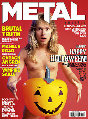 This is Metal Magazine Spain Issue 18, Helloween Michael Kiske Walls of Jericho