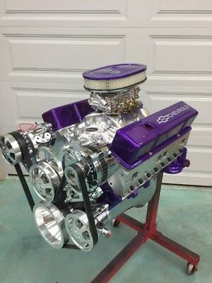 383 STROKER CRATE MOTOR  EFI included 500hp A/C ROLLER chevy TURN KEY engine SBC