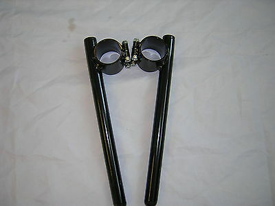 Yamaha R6 1998  Steel Race Clip Ons 43mm New,