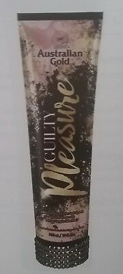 NEW 2018 AUSTRALIAN GOLD GUILTY PLEASURE WHITE BRONZER 10 oz FAST FREE SHIPPING