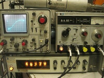 RARE HP-8600A Digital Marker for HP-8601A Sweep Generator
