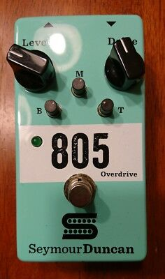 Seymour Duncan 805 Overdrive Effect Pedal Electric Guitar