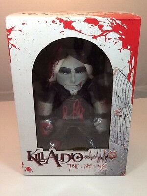 Claudio Sanchez Kill Audio Troll Collector Doll By Evil Ink Comics Vinyl Cut Toy