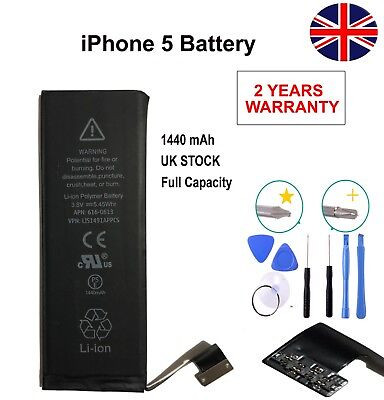 Genuine gmz Replacement battery for Apple iPhone 5 5g Capacity1440 mAh + Tools