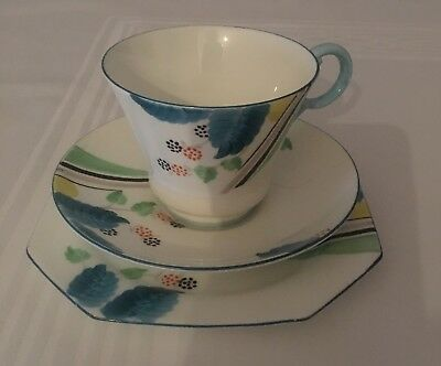 Royal Paragon 1933-34 Vintage English Bone china Cup, Saucer And Small Plate