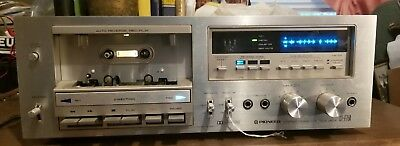 Pioneer Ct-F750 Stereo Cassette Tape Deck Needs Work