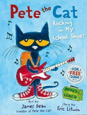NEW Pete the Cat By Eric Litwin Paperback Free Shipping