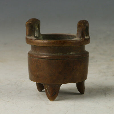 Chinese Copper  Incense Burner Made During The Xuande Period WL103