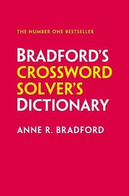 NEW Collins Bradford's Crossword Solver's Dictionary By Anne R. Bradford