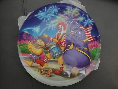 McDonald's Collectors Melamine Dinner Plate 4th of July 2002 Set of 12 New