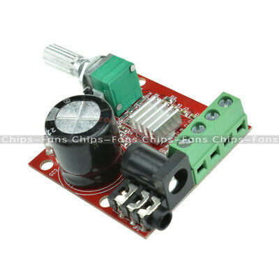 2PCS 12V 2X10W Hi-Fi PAM8610 Audio Stereo Amplifier Board Module Dual D Class