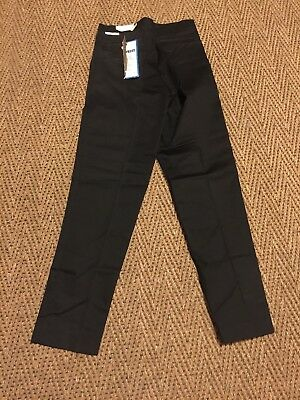 Vintage Sears 60 s Black Pants Sears NWT size 25 X 38 High Waisted Slim Cut