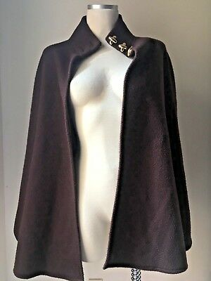 Amanda Smith Brown Cape Coat One Size Fits Most (Set Available, Ask!) H16