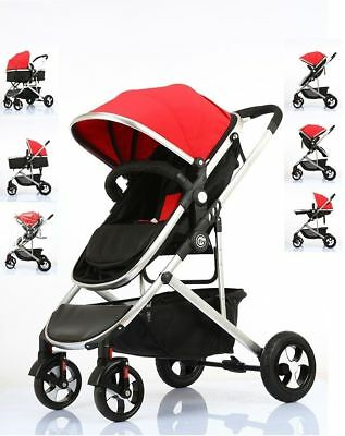 Fly Kids Pram Travel System 3 in 1 Combi Stroller Buggy Baby Child Pushchair