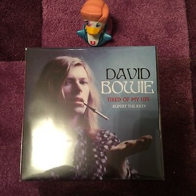 David Bowie Tired Of My Life / Rupert The Riley 7in Single