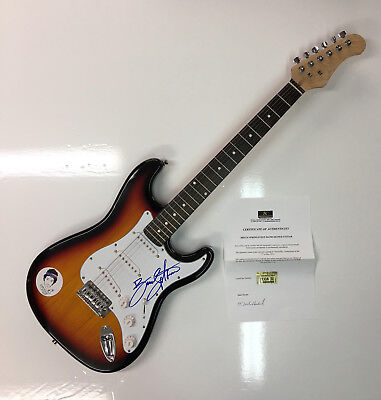 Bruce Springsteen Signed Born In The USA Electric Guitar with COA