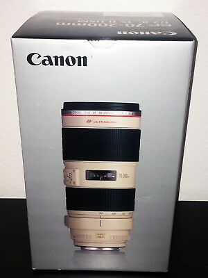 NEW Canon EF 70-200mm f/2.8L IS II USM Lens for Canon DSLR Cameras USA WARRANTY!