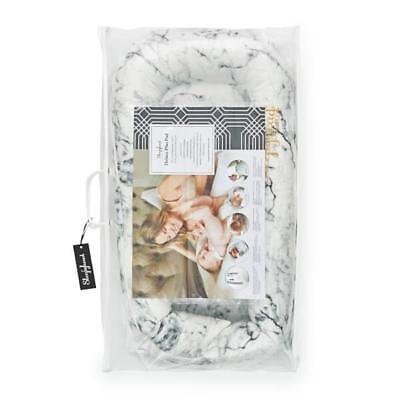 Sleepyhead Deluxe + Pod For 0-8 Months - Carrara Marble Lightweight and Portable