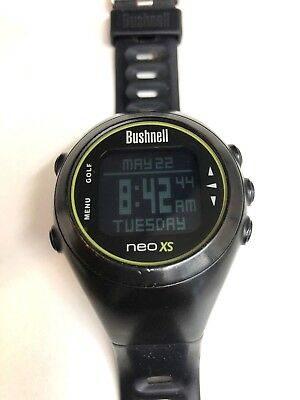 Bushnell Neo XS Golf Watch GPS with USB charger