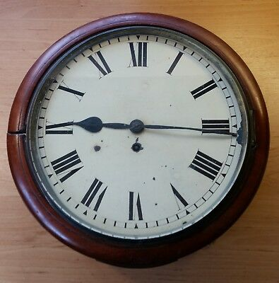 A Good English Dial Clock, with Fusee Movement, for Restoration.................