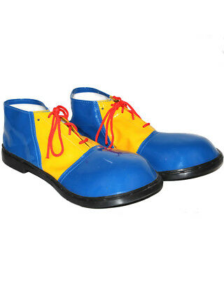 Blue And Yellow Clown Child Shoes One Size