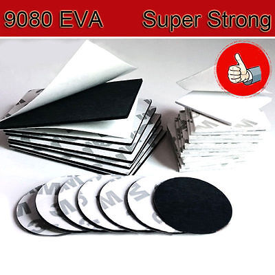 9080EVA Double Sided Adhesive Foam Tape Sticky Pads Black/White Various Size IL