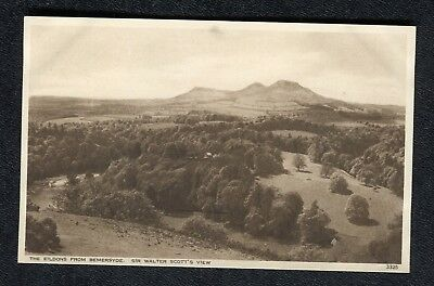 c1930s Sir Walter Scott's View: The Eildons from Bemersyde