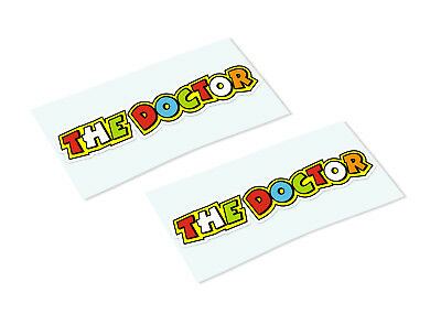 ROSSI THE DOCTOR Classic Retro Car Motorcycle Decals Stickers