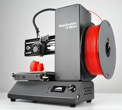 3D Printer Wanhao Duplicator i3 Drucker Mini UK NEXT DAY DELIVERY +LOCAL SUPPORT