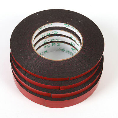 10M Strong Permanent Double-Sided Adhesive Glue Tape,Super Sticky With Red~Liner