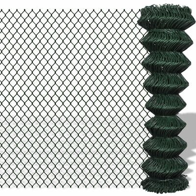 Chain Fence 1.5 x 15 M - Green