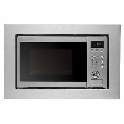 Cookology IM20LSS 20L 800W 60cm Integrated Built-in Microwave in Stainless Steel