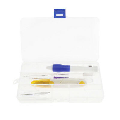 10-tlg. Stickerei Stift Kit Stickerei Pen Punch Sticknadeln Werkzeug Set Needle